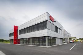 Nominovaná stavba - Výrobní závod s administrativním objektem SEW-EURODRIWE CZ, HOSTIVICE