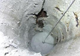 Vymazávání komína