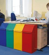 Výklopné kancelářské koše