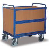 Plný skříňový vozík