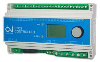 Automatický termostat pro řízení systému topných kabelů a rohoží