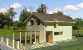 Typový pasivní dům Šeřík