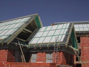 Realizace nové zateplené střechy - nadkrokevní izolace