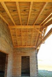 Přesah střechy nad terasou