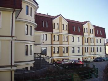 Dům s pečovatelskou službou Chrudim postavený ze stavebního systému VELOX