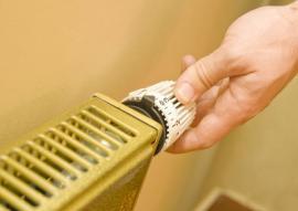 Manuální nastavení teploty vody v radiátoru