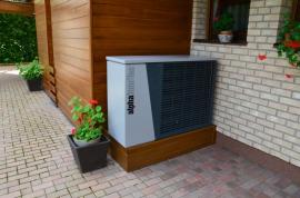 Venkovní jednotka tepelného čerpadla vzduch - voda