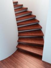 Dřevěné schodišťové stupně