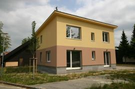 Typový dům HELUZ TRIUMF před dokončením