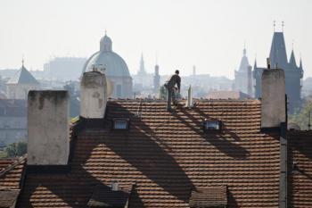 Stará, ale stále funkční střecha