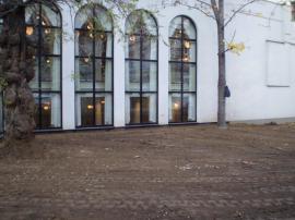 Hotel K+K Central Praha - sanace a izolace stěny sálu ve dvorním traktu