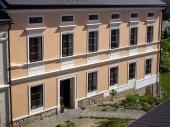 Sídlo firmy IMESTA, Dřevčice - injektáž opukového zdiva zemědělské usedlosti