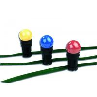 Girlandy s barevnými žárovkami