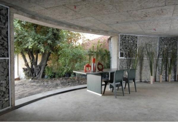 Gabiony v interiéru, Zdroj: gabiony.org