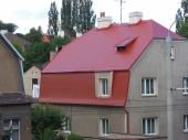 Střecha renovovaná barvou Meffert MF 1000 (MD Roof)