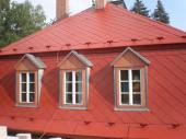 Renovovaná eternitová střecha