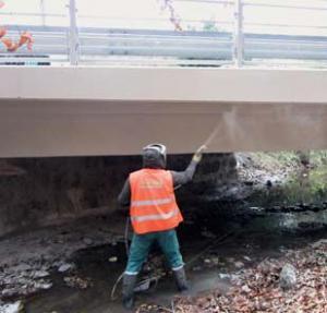 Sanace mostu ve Stupavě