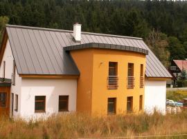 Realizovaná střecha s plechovou krytinou
