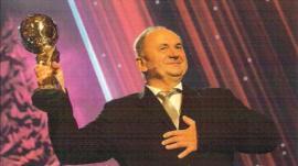 Předávání ceny E.on ENERGY GLOBE AWARD 2013, na snímku Ing. Jiří Marian