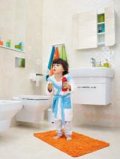 Koupelna vybavená sanitární keramikou značky Cersanit