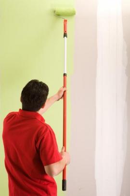 Malování s válečkem