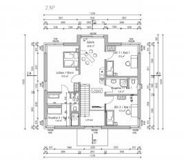 Moderní dům Exklusive FZ 98 - 110 B V6 - patro