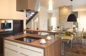 Kuchyně - jídelna - obývací pokoj