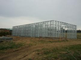Konstrukce domu ze systému Iron Houses