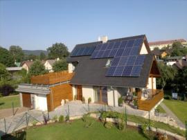 Nízkoenergetická dřevostavba