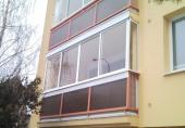 Lakované hliníkové okenní profily