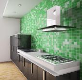 Mozaika v kuchyni