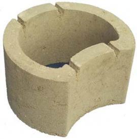 Tvárnice ztraceného bednění určená pro opěrné stěny ve svazích - do dutin lze též nasypat štěrk či zeminu a vysadit rostliny