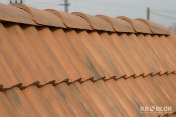 Betonová střešní krytina Betonová střešní krytina KB - BLOK