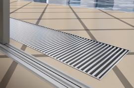 Bazénové provedení podlahového konvektoru Licon
