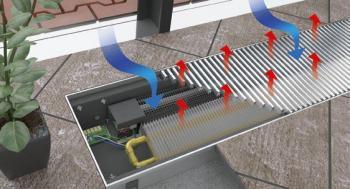 Princip fungování podlahového konvektoru - typ PKOC