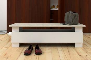 Otopná lavice Licon s deskou