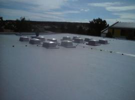 Hydroizolace ploché střechy z PVC fólie