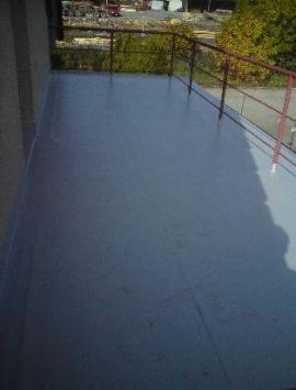 Hydroizolace terasy z PVC fólie