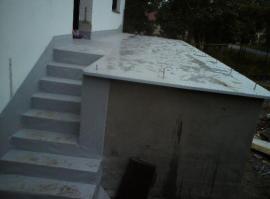 Hydroizolace terasy a schodiště z PVC fólie
