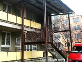 Ocelová konstrukce schodiště