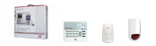 Elektronické prvky zabezpečovacích systémů