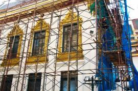 Rekonstrukce bytového domu v historické městské zástavbě