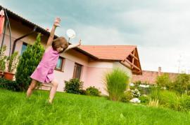 I volné travnaté plochy budou pro děti místem na hraní