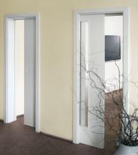 Dveře posuvné do stavebního pouzdra