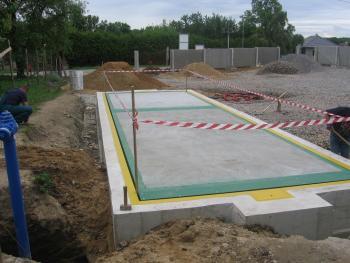 Instalace automobilové mostové váhy Profi B 16x3 m