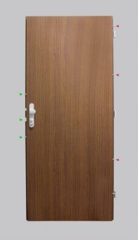 Bezpečnostní protipožární dveře Sherlock K245/2