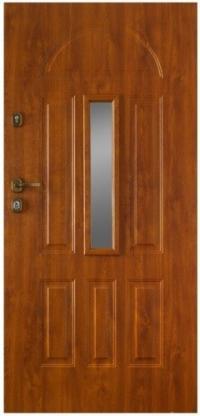 Bezpečnostní a vchodové dveře Gerda GTT Werona 1