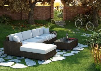 Zahradní sedací souprava Milano 3 + stolek - kolekce Royal