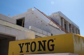 Výstavba RD z Ytongu