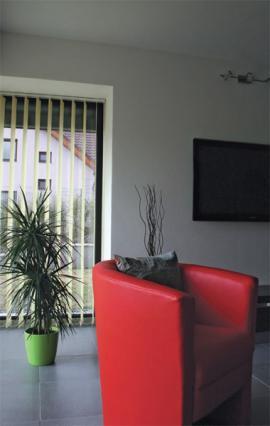 Interiér domu ze zdiva z pórobetonu Ytong